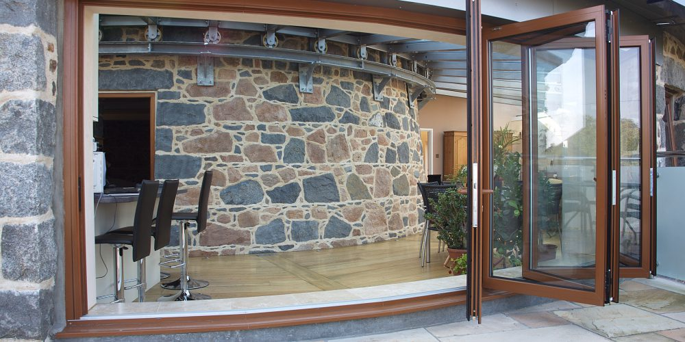Bespoke bi-fold doors by Bonsai
