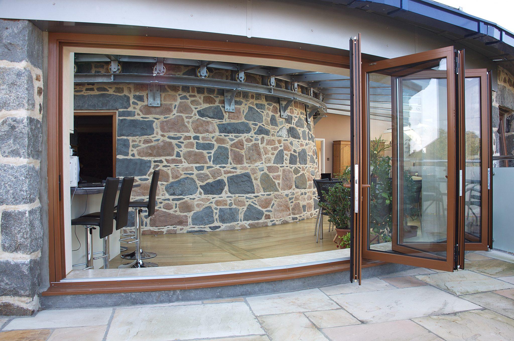 Bespoke bi-fold doors by Bonsai